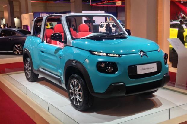 Citroën E-Mehari tem motor elétrico e carroceria de plástico (Foto: Julio Cabral/Autoesporte)