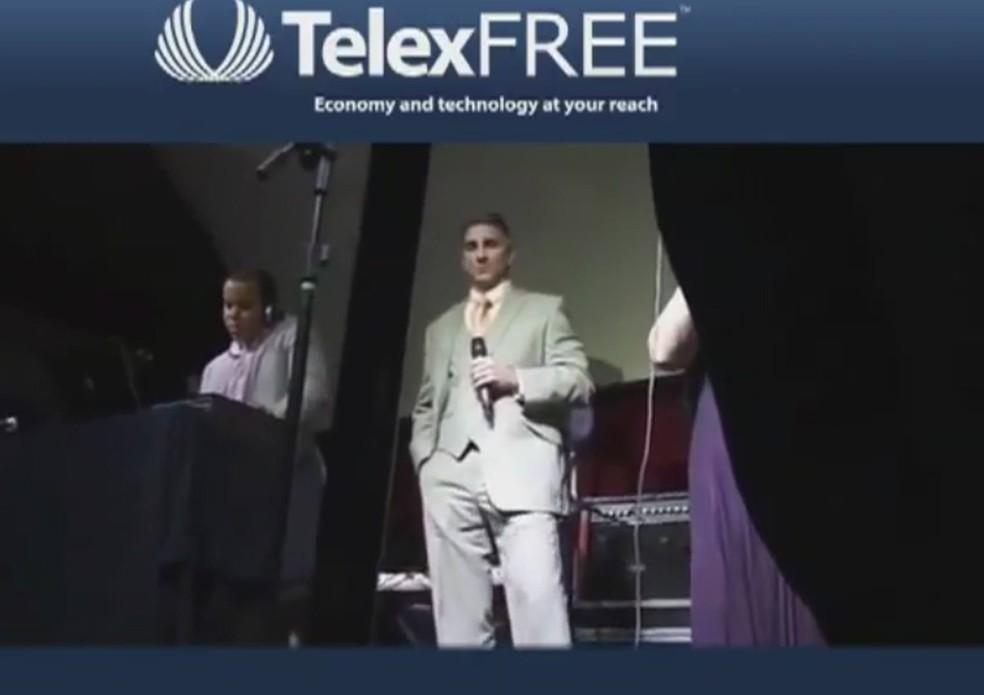 Telexfree foi fundada por James Merrill (foto), um cidadão norte-americano, juntamente com o brasileiro Carlos Wanzeler (Foto: Reprodução/YouTube/Mally Campbell)