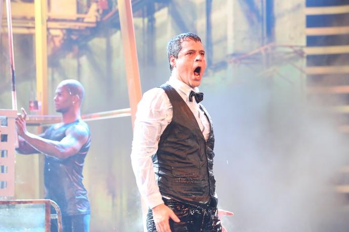 Bruno Garcia arrasa na estreia do 'Truque Vip' (Foto: Carol Caminha/Gshow)
