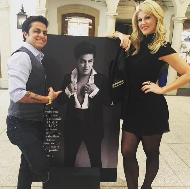 Thammy Miranda e Val Marchiori (Foto: Instagram / Reprodução)