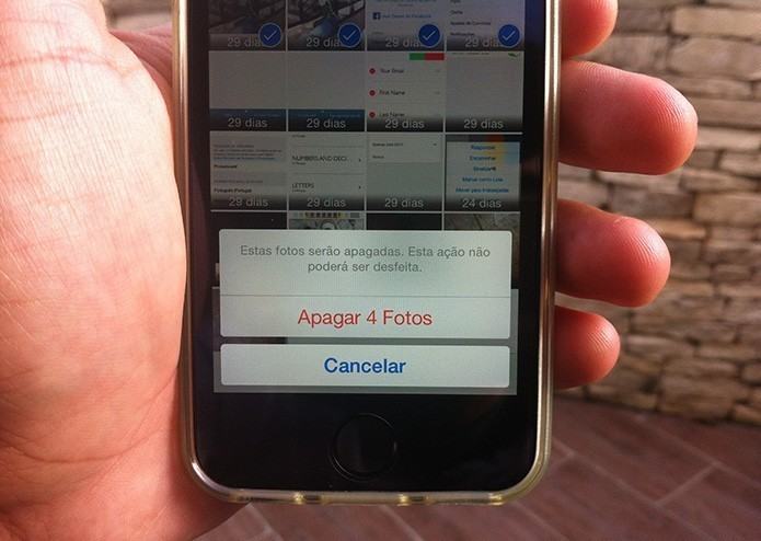 Como anexar mais de cinco fotos no iPhone com o Gmail? (Foto: Marvin Costa/TechTudo)