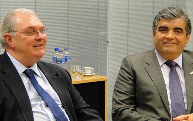 reunião cruzeiro: gilvan e ricardo barra (Foto: Tarcísio Badaró / Globoesporte.com)