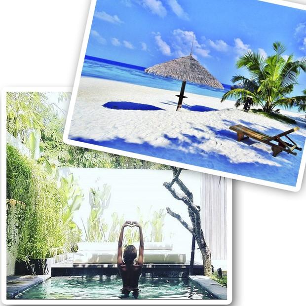 Jourdan Dunn passou o Réveillon no The Samaya Villas Bali (Foto: Instagram/Reprodução)