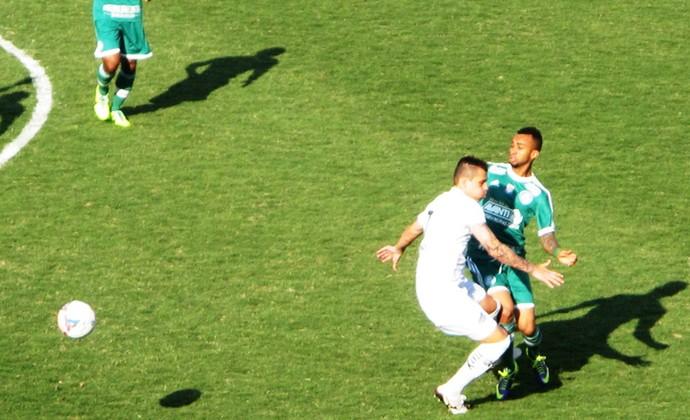 wesley Bragantino x Palmeiras (Foto: Marcelo Hazan)