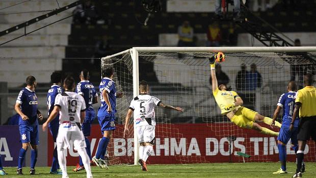 Cassio jogo Corinthians e Ponte Preta (Foto: Marcos Ribolli / Globoesporte.com)