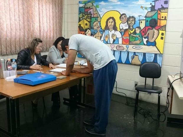 Domingo de votação em Sorocaba - Eleições 2016 (Foto: Amanda Campos/G1)