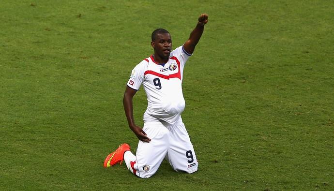 Campbell, atacante da Costa Rica (Foto: Gettyimages)