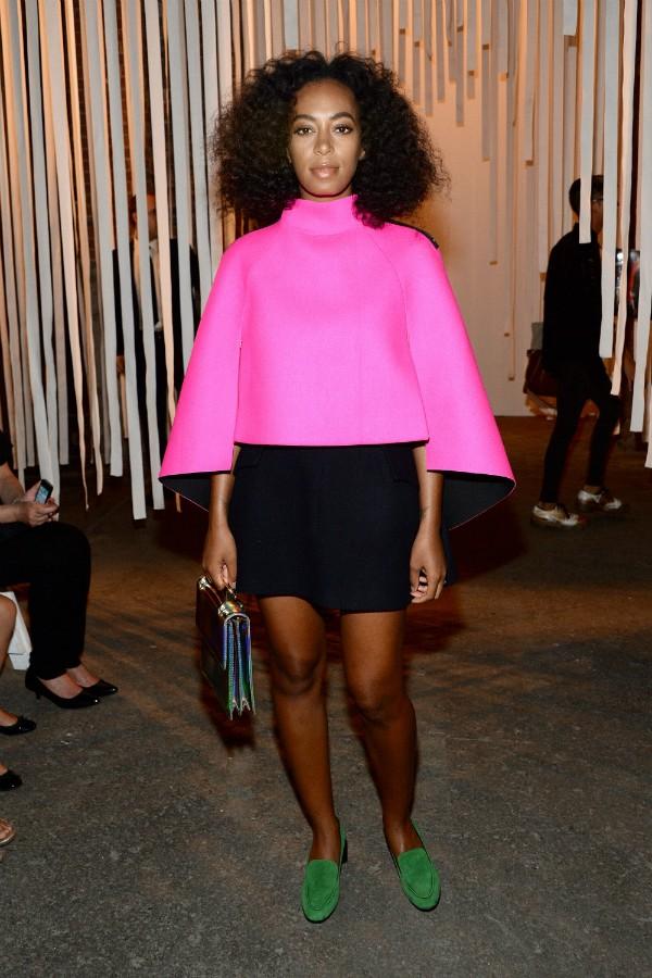 Além de cantora, Solange Knowles trabalha como modelo e atriz (Foto: Getty Images)