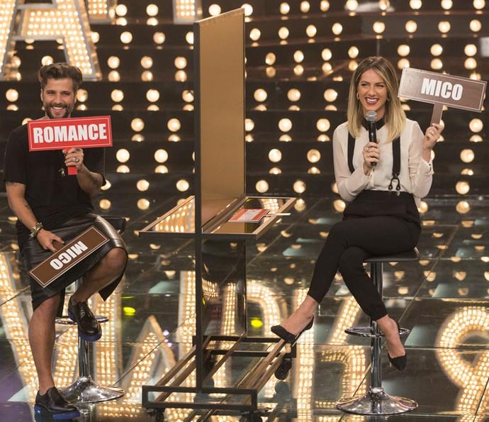 Bruno Gagliasso e Giovanna Ewbank participam de brincadeira no 'Amor e Sexo' (Foto: Felipe Monteiro/Gshow)
