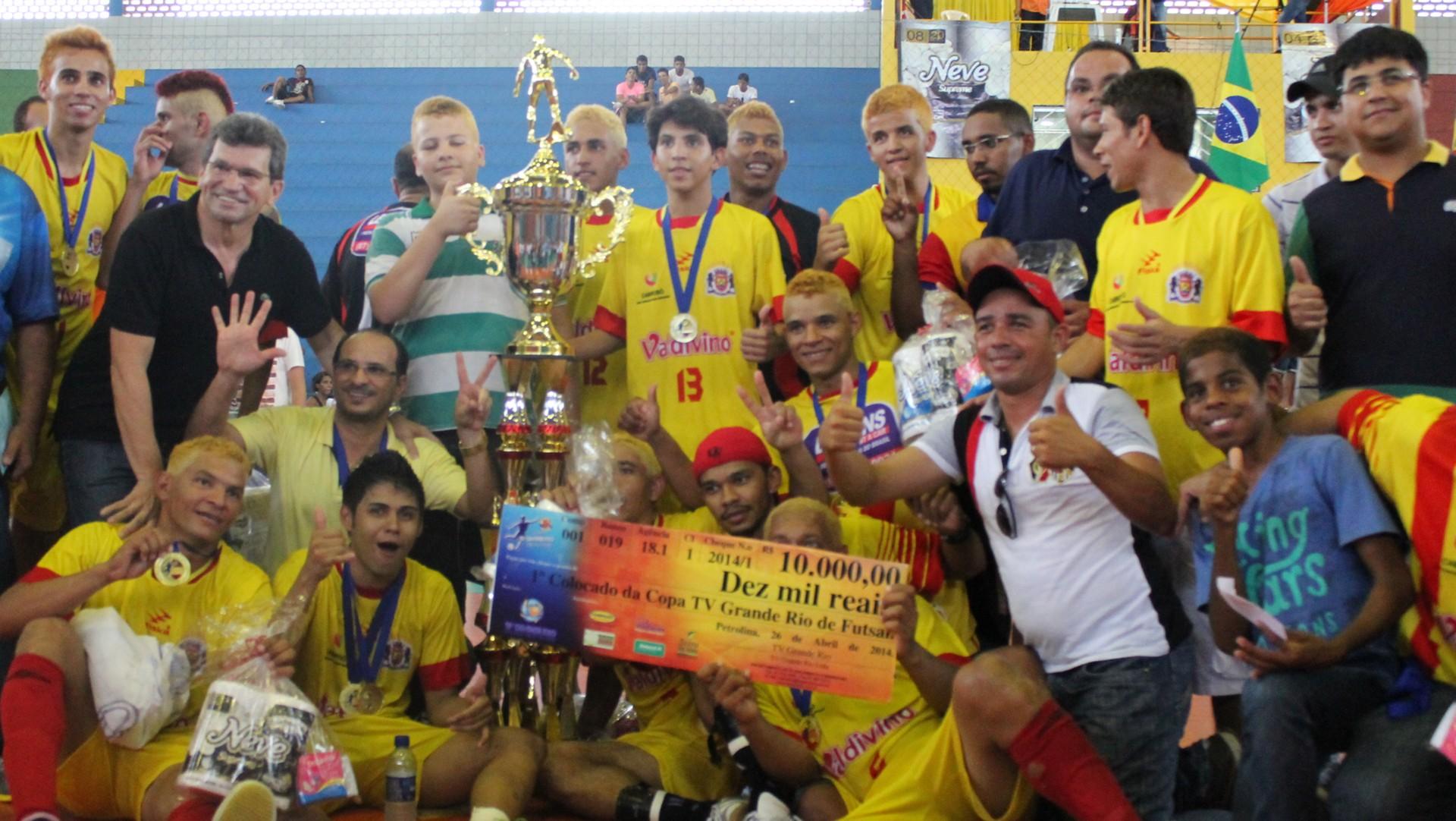 Cabrobó venceu a 18ª Copa Tv Grande Rio de Futsal (Foto: Emerson Rocha)