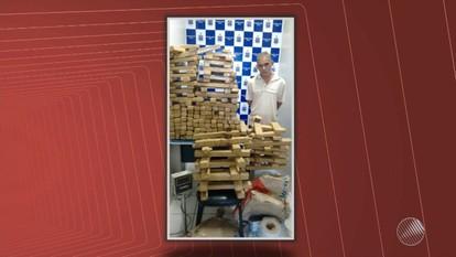 Polícia prende traficante de drogas em Vitória da Conquista