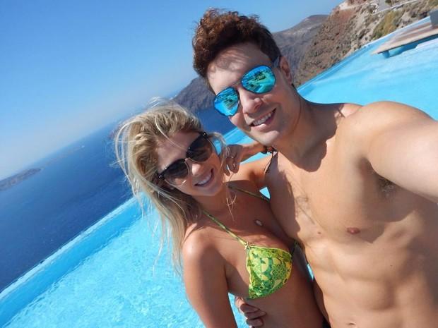 Bárbara Evans e namorado (Foto: Reprodução / Instagram)