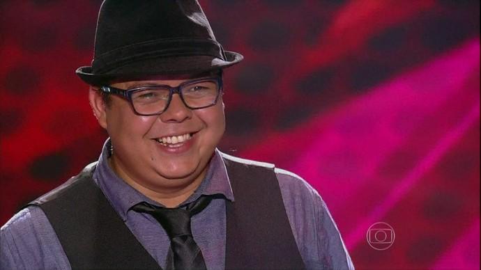 Faça como Elias Moreira, inscreva-se e mostre o seu talento (Foto: Reprodução/The Voice Brasil)