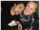 Latino posa com tia de Mirella Santos: 'Minha tia também'