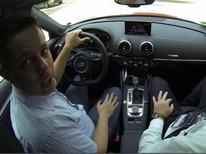 Test-drive Audi A3 e-tron (Foto: Reprodução)
