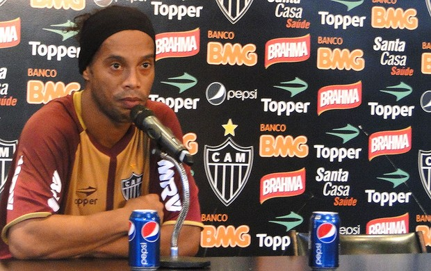 Ronaldinho, Atlético-MG (Foto: Roberto Rodrigues)