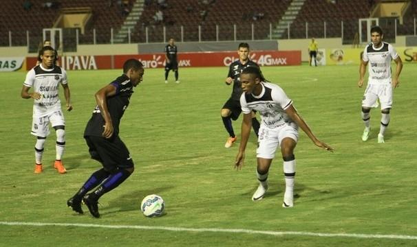 Ceará quer a vitória diante do Confiança-SE para avançar na Copa do Brasil. (Foto: Luciano Otávio)