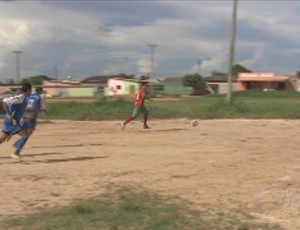 Copa de Futebol Society acontece no campo do Abobrinha (Foto: Reprodução/Tv Rondônia)