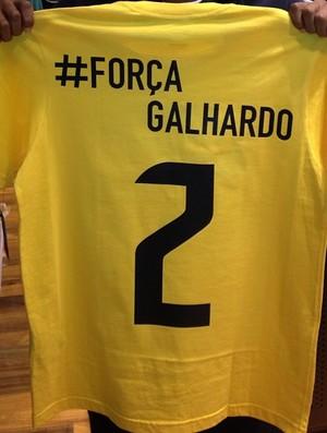 Camisa Victor Andrade Rafael Galhardo Instagram (Foto: Reprodução / Instagram)