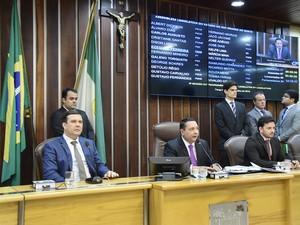 Sessão extraordinária deve acontecer na próxima segunda (1º) (Foto: João Gilberto/ALRN)