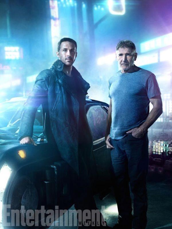 Harrison Ford e Ryan Gosling em foto na continuação de 'Blade Runner' (1982) (Foto: Divulgação)