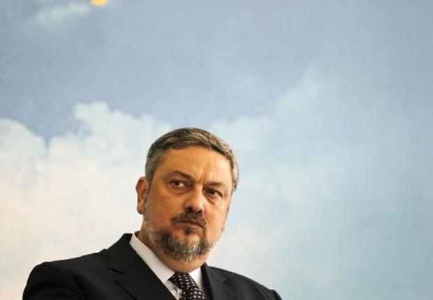Antonio Palocci foi ministro dos governos Lula e Dilma. Ele aparece aqui em imagem de 2011 (Foto: Ueslei Marcelino/Reuters)