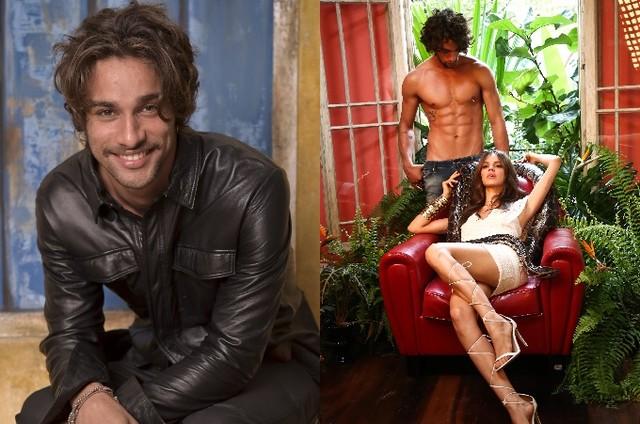 Pablo Morais e Laura Neiva (Foto: TV Globo/ Luciana Prezia)