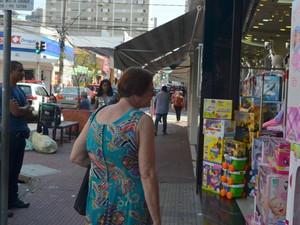 Dia das Crianças movimenta comércio de Piracicaba (Foto: Carol Giantomaso/G1)