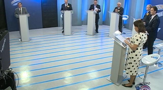 Debate entre os candidatos ao governo de Santa Catarina - Parte 3