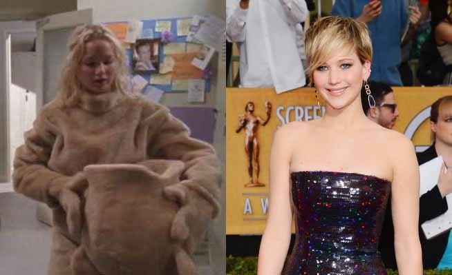 A ganhadora do Oscar fez sua primeira aparição na série 'Monk', em 2006. Atualmente, a atriz está com a agenda cheia de trabalhos, sendo os mais notáveis a franquia de 'Jogos Vorazes' e 'X-Men: Apocalypse', previsto para 2016. (Foto: Reprodução/Getty Images)