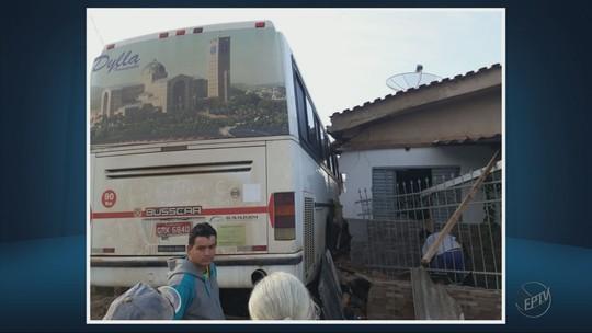 Homem é atingido por ônibus desgovernado em Paraguaçu, MG