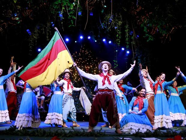 Natal Tchê mistura tradição gaúcha e clima natalino em Gramado (Foto: Cleiton Thiele/Divulgação)