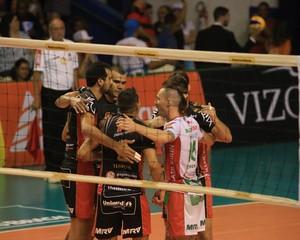Campinas, vôlei masculino (Foto: Cinara Piccolo/Vôlei Brasil Kirin)