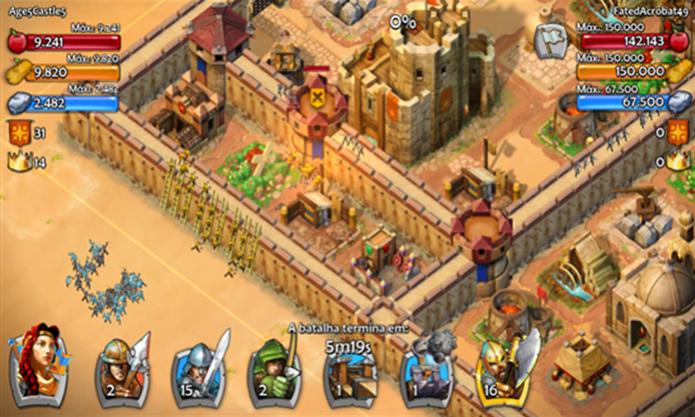 Age of Empires Castle Siege é a versão para smartphones do jogo para computadores (Foto: Divulgação/ Windows Phone Store)