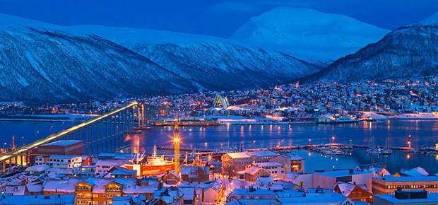 Tromsø, na Noruega (Foto: Bard Løken/ Divulgação)