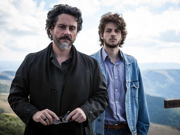Nero e Chay: semelhança que impressiona (Foto: Pedro Curi/TV Globo)