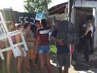 PM faz ação de reintegração de posse no Jardim Ana Paula, em Bertioga, SP