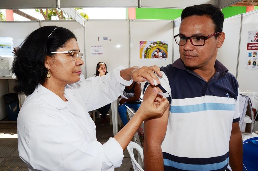 Campanha de vacinação contra a influenza começa em 17 de abril (Foto: Divulgação/Sesau)