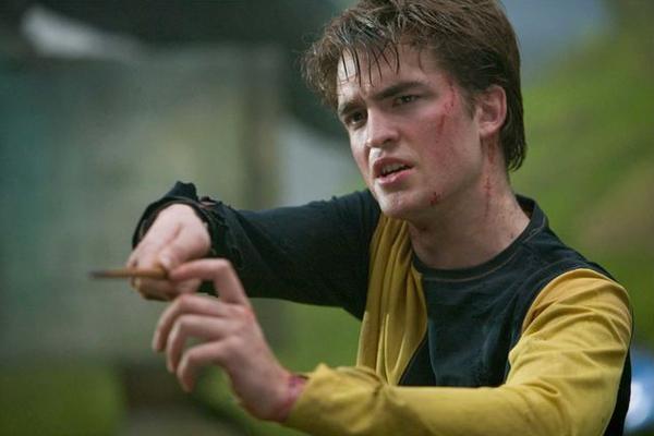 Robert Pattinson em cena de Harry Potter e o Cálice de Fogo (Foto: Reprodução)
