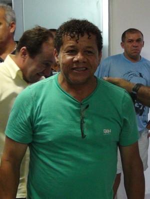 Jacozinho, ídolo do CSA (Foto: Paulo Victor Malta/GloboEsporte.com)