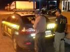 Idoso bate em dois carros e foge da PRF (Divulgação/PRF)