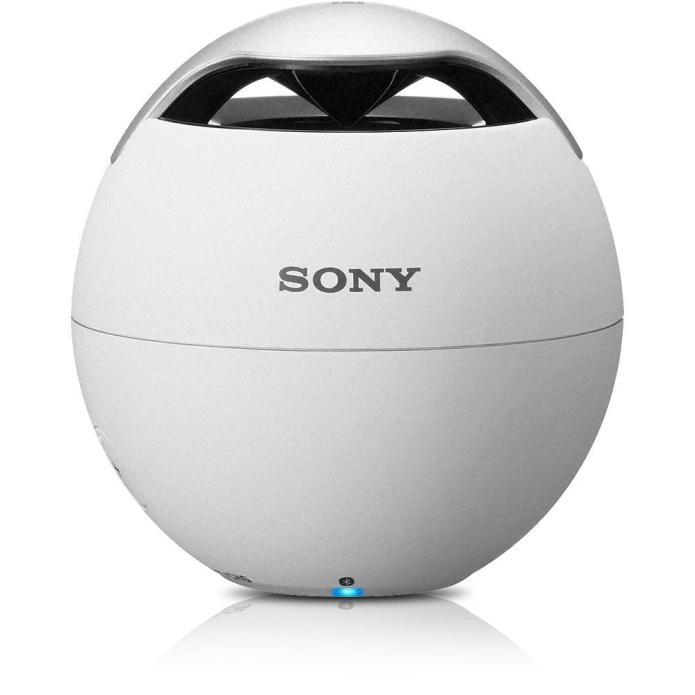 A caixa de som Sony SRS-BTV5 conta com potência de 1,2W RMS e conexão Bluetooth (Foto: Divulgação)