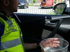 Polícia inglesa resgata peixe deixado em carro após motorista ser preso