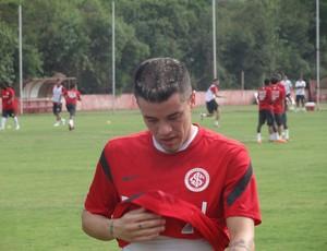 D'Alessandro Inter treino (Foto: Tomás Hammes / Globoesporte.com)