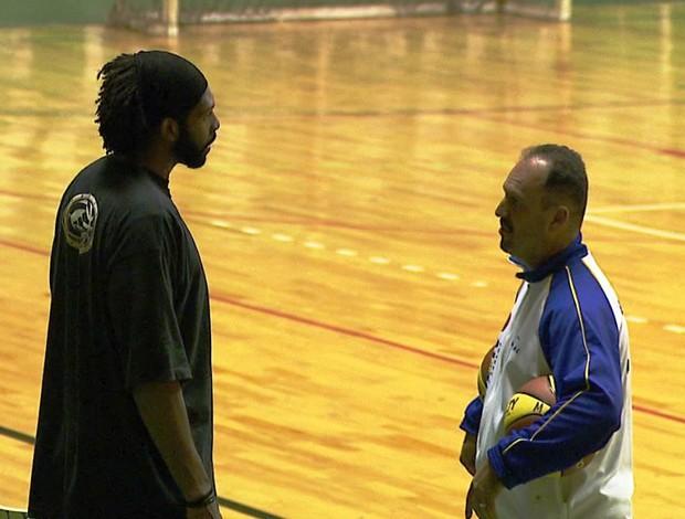 Pivô de basquete Nenê Hilário (Foto: Reprodução / EPTV)
