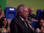 Temer é vaiado durante abertura da Olimpíada no Rio