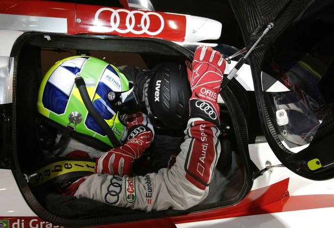 No Mundial de Endurance, Lucas di Grassi foi o segundo colocado nas tradicionais 24 Horas de Le Mans, em junho (Foto: Divulgação)