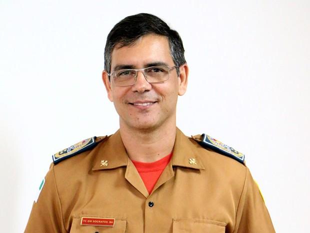 Resultado de imagem para coronel Sócrates Vieira de Mendonça Junior.