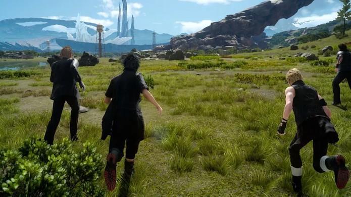 Noctis e seus amigos estrelarão modo multiplayer em Final Fantasy 15 (Foto: Reprodução/Polygon)