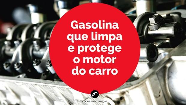 INFOGRÁFICO: Conheça a gasolina que limpa e protege o motor do carro (Comunicação Shell)